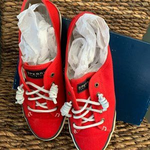 Sperry Seacoast Canvas Casual Lace-Up Sneaker SZ 9